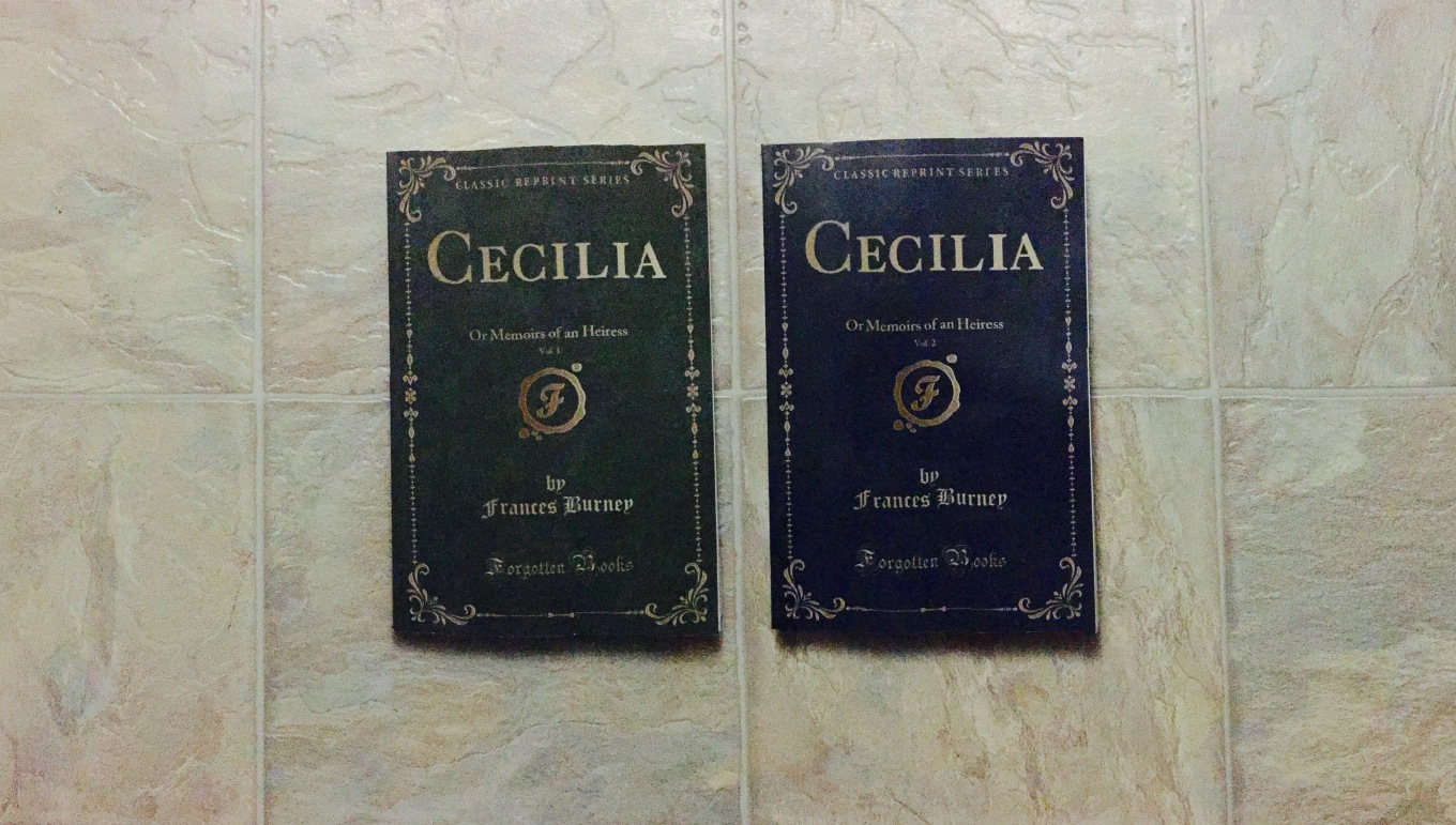 Cecilia by Frances Burney, Forgotten Books editions